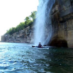 Kayaking Spray Falls