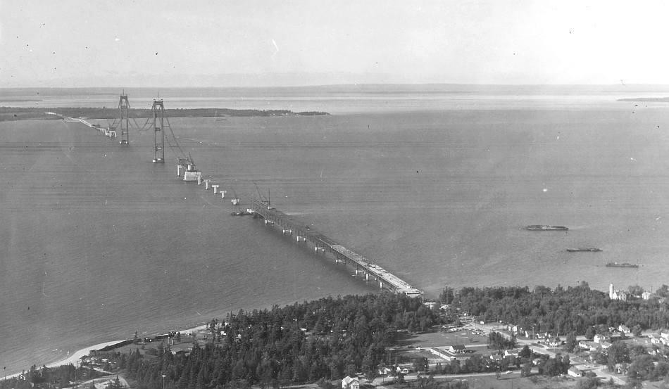 Mackinac Bridge History