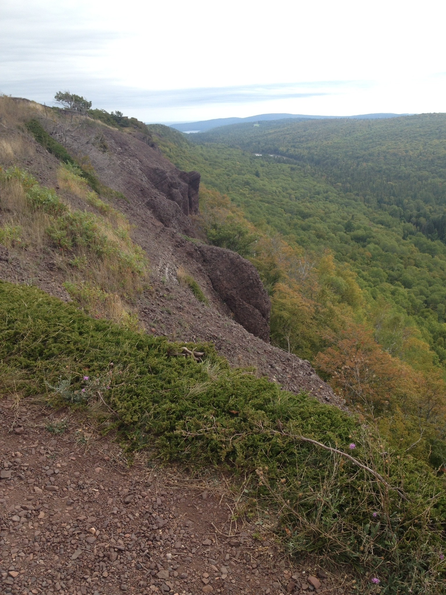 Brockway Mountain Ridge