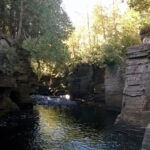 Canyon Falls Rock Ledges