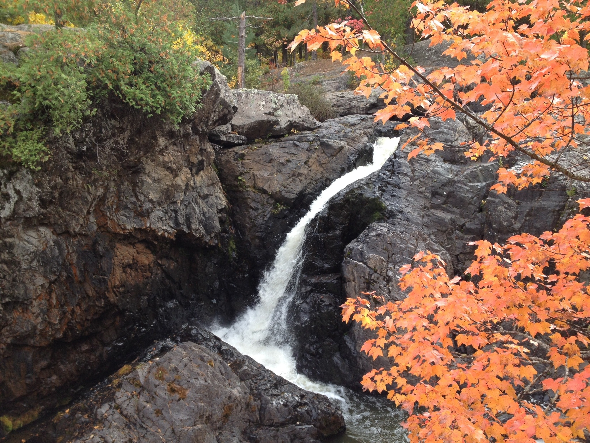 Second Drop of Dead River Falls