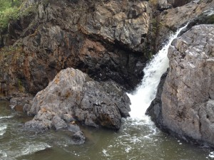 Bottom of Middle Falls