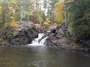 Bottom of Upper Falls