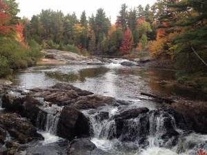 Top of the Upper Falls